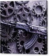 Industrial Firearms  Canvas Print