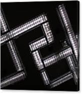 Industrial Geometric Design Canvas Print