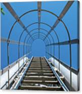 Industrial Ladder Canvas Print