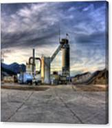 Industrial Landscape Study Number 1 Canvas Print