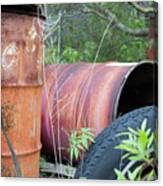 Industrial Leftovers Canvas Print