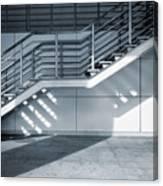 Industrial Stairway Canvas Print