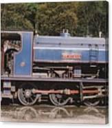 Industrial Steam Engine Canvas Print