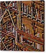 Industrial Storage And Distribution System Canvas Print