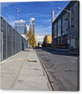 Industrial Street Canvas Print