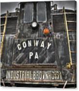Industrial Workhorse Canvas Print