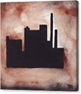 Industry City Canvas Print