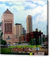 Indy Festival Canvas Print