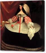 Inez De Zuniga - Countess Of Monterrey Canvas Print