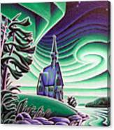 Church Of The Infant Jesus, Longlac, Ontario Canvas Print