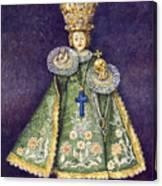 Infant Jesus Of Prague Canvas Print