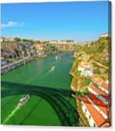 Infante Bridge Oporto Canvas Print