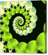 Infinite Chartreuse Canvas Print