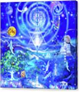 Infinite Life Force Canvas Print