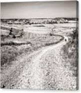 Infinity Road To Santiago Canvas Print