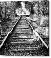 Infinity Train Canvas Print