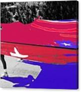 Inflatable Flag July 4th Parade 2 Tucson Arizona Canvas Print