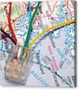 Information Super Highway Canvas Print