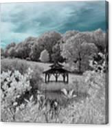 Infrared Gazebo Canvas Print