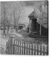 Infrared House Canvas Print