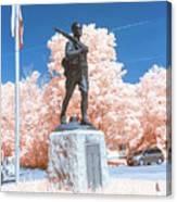 Infrared Memorial Canvas Print