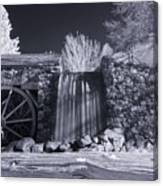 Infrared Mill 2 Canvas Print