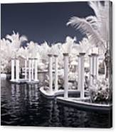 Infrared Pool Canvas Print