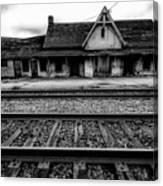 Ingersoll Train Station    Canvas Print