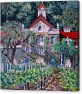 Inglenook Winery Napa Valley  Canvas Print