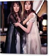Ingrid Pitt And Madeline Smith Canvas Print