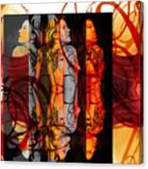 Ink Sisters 11.11 Canvas Print