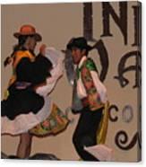 Inka Dancers Canvas Print