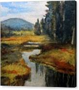 Inlet In Indian Lake Canvas Print