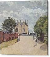 Inn At East Molesey Canvas Print