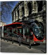 Inner City Tram Canvas Print