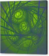 Inner Light Spiral Sanctum Canvas Print