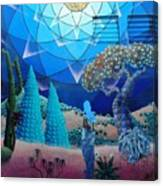 Inner Space-art On A Wall.  Canvas Print