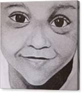 Innocent Smile Canvas Print
