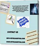 Innovation Social Business Network Canvas Print