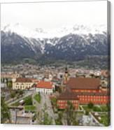 Innsbruck View Canvas Print