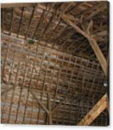 Inside Of The Barn Canvas Print