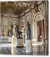 Inside One Of The Rooms Of The Capitoline Museums In Rome, Italy  Canvas Print