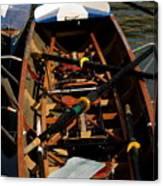 Inside Sail Boat Canvas Print