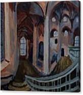 Inside The Church Canvas Print