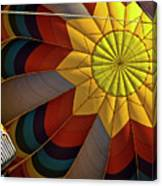 Inside The Heart Of A Hot Air Balloon Canvas Print