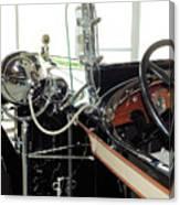 Inside The Packard - 2 Canvas Print