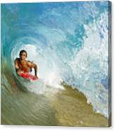 Inside Wave Tube Canvas Print