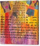 Inspiration Angels II Canvas Print