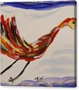 Inspired By Calder's Only Only Bird Canvas Print