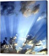 Inspiring Sunburst Canvas Print